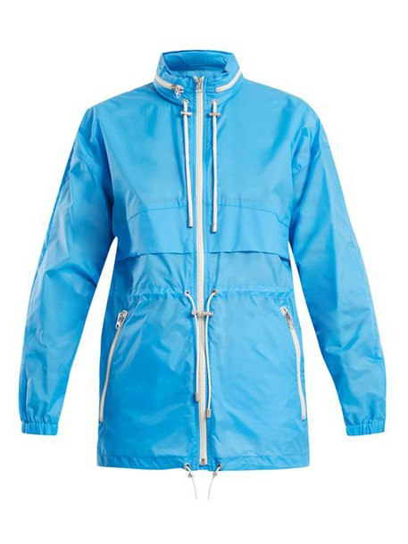 Isabel Marant Étoile - Cranden Lightweight Hooded Jacket - Womens - Blue
