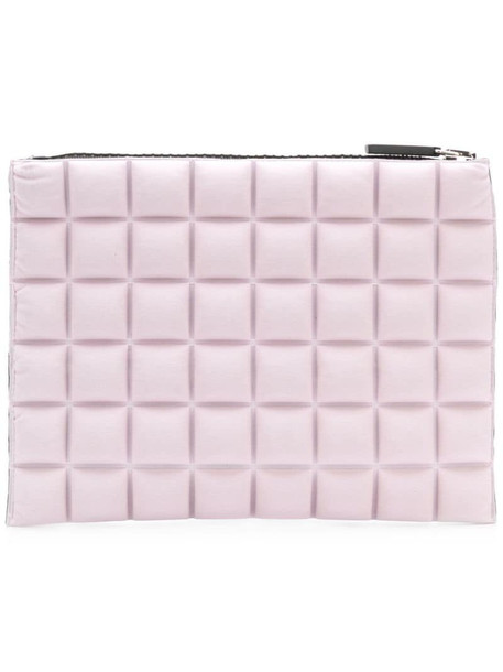 No Ka' Oi chocolate bar quilted pouch in pink