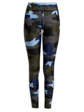 leggings,camouflage,print,blue,pants