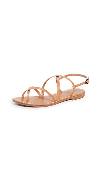 Soludos Zoe Strappy Sandals in tan