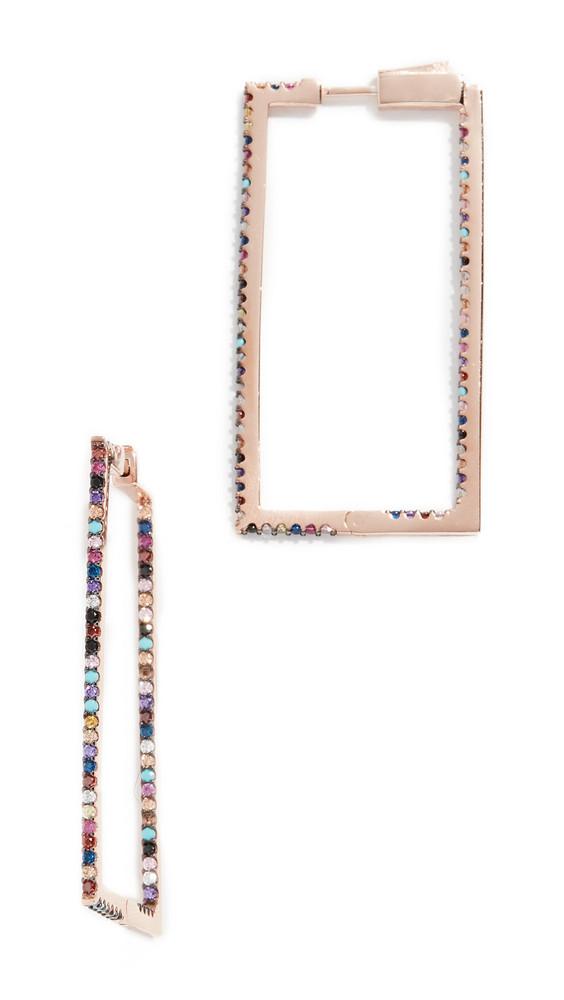 Nickho Rey Mini Jaqs Earrings in gold / multi