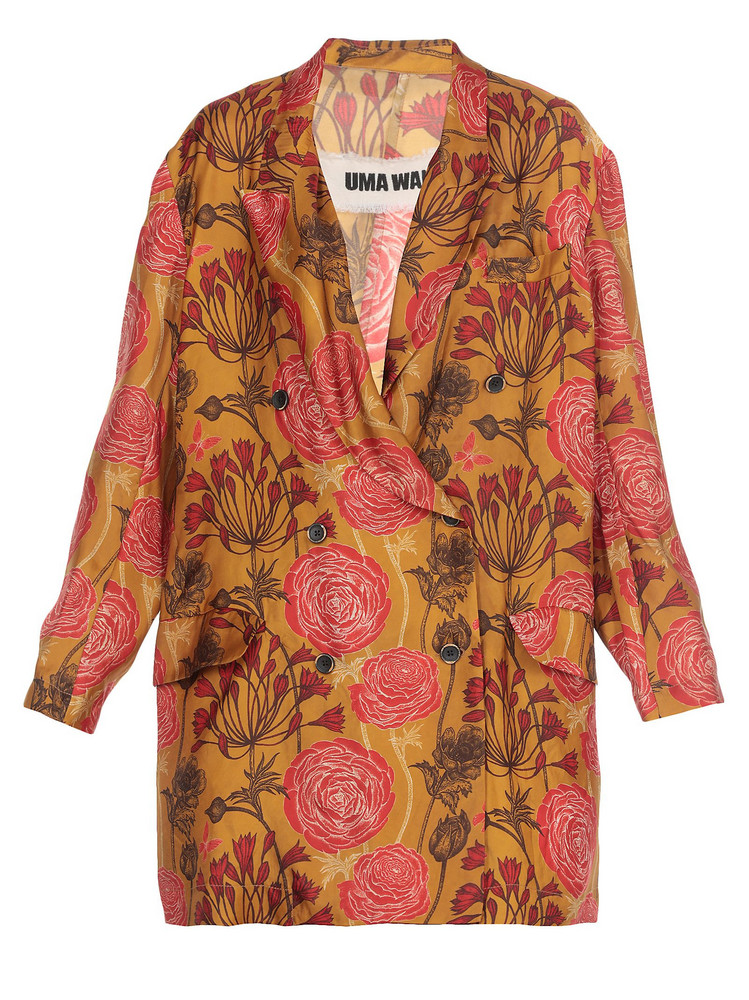 Uma Wang Single-breasted Jacket in mustard
