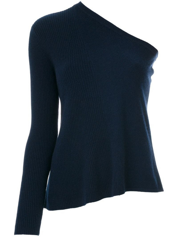 Cashmere In Love cashmere Tisa knitted top in blue