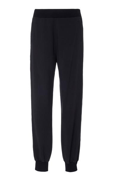 Vaara Monroe Knit Jogger Pants Size: L in black