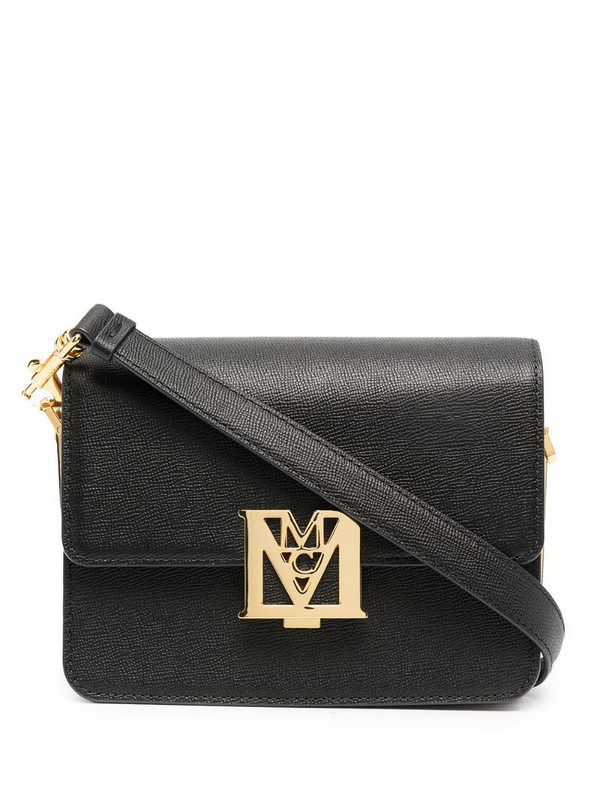 MCM Mena Visetos shoulder bag in black