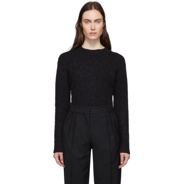 Acne Studios Black Alpaca and Wool Kerna Sweater