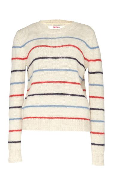 Isabel Marant Étoile Gian Striped Alpaca-Blend Sweater