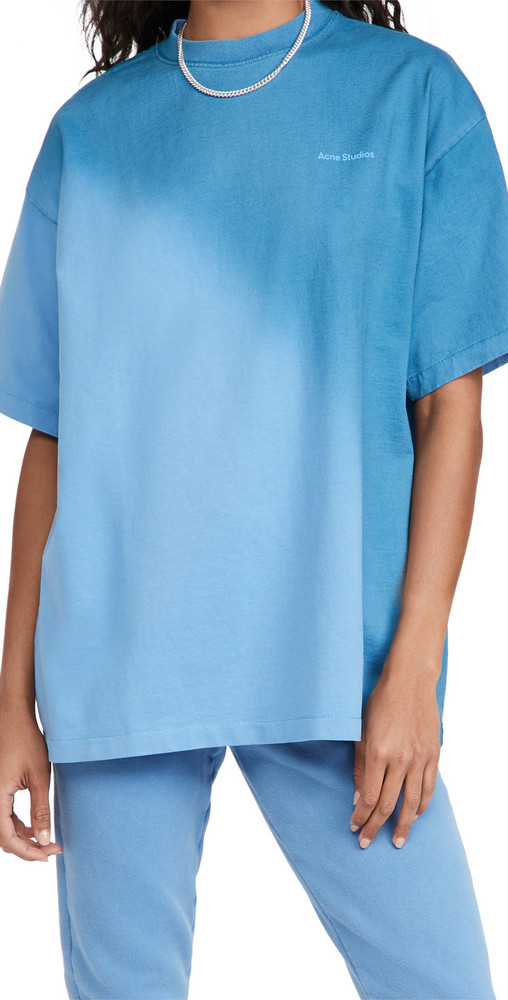 Acne Studios Ombre T-Shirt in blue