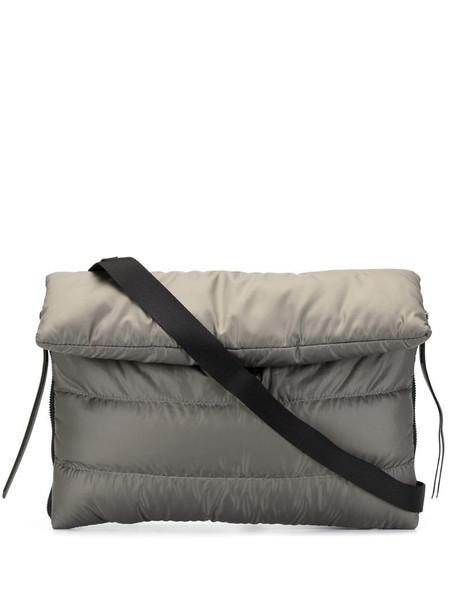 Discord Yohji Yamamoto Matofu quilted crossbody bag in grey