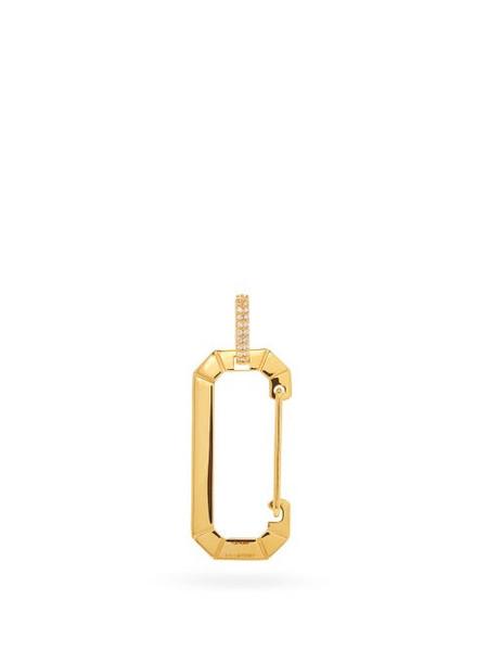 EÉRA Eéra - Chiara Diamond & 18kt Gold Single Earring - Womens - Yellow Gold