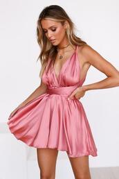 dress,mini dress,blush,pink,cocktail dress,dressy