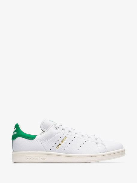 Adidas White Stan Smith low-top leather sneakers