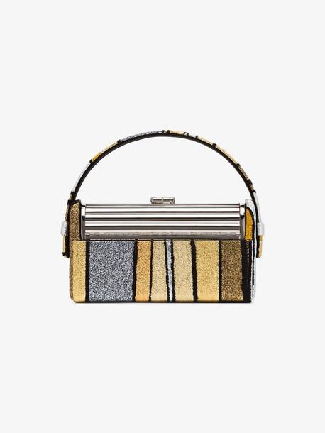 Bienen Davis gold and silver Regine mini tote bag