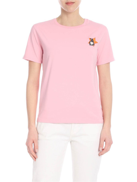 Paul Smith Lucky Star T-Shirt in pink