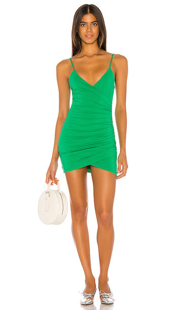 Lovers + Friends Lovers + Friends Emilia Mini Dress in Green