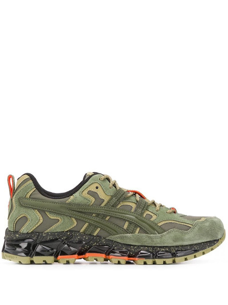 ASICS panelled sneakers in green