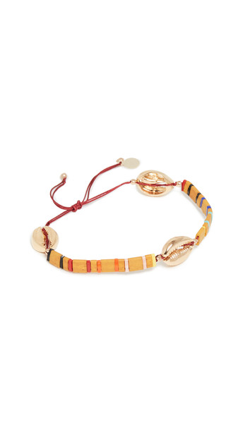 Shashi Baltic Tilu Bracelet in gold / mustard / multi
