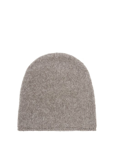 Lauren Manoogian - Crown Alpaca Beanie Hat - Womens - Grey