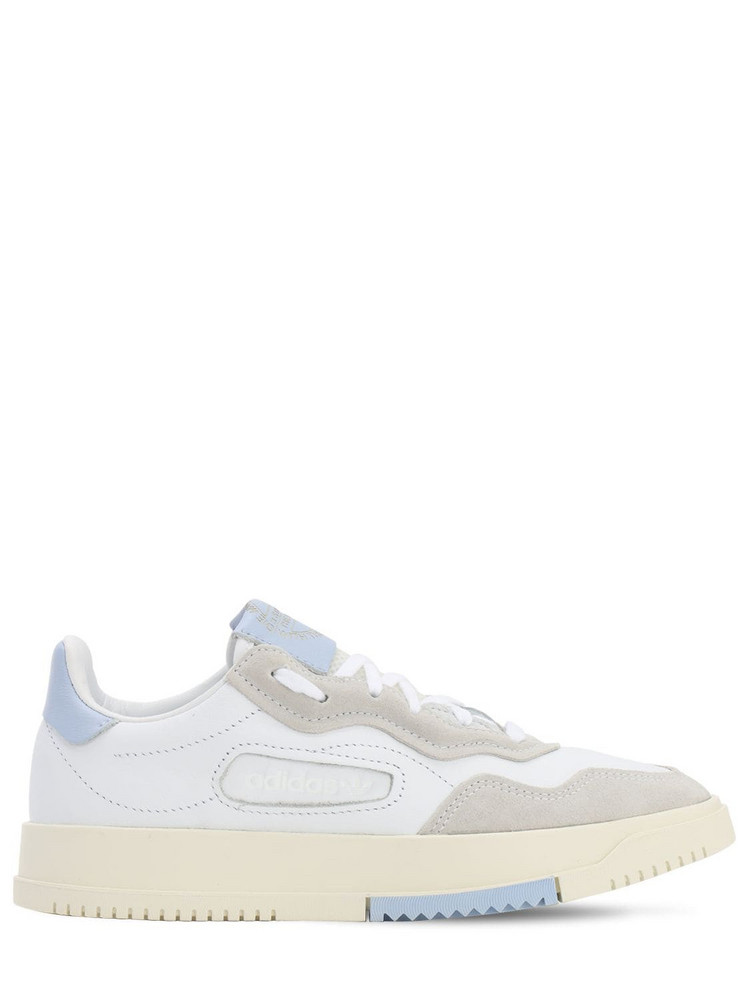 ADIDAS ORIGINALS Sc Premiere Leather Sneakers in white