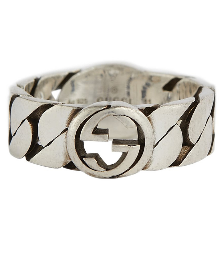 Gucci GG sterling silver ring