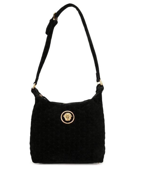 Versace Pre-Owned Medusa shoulder bag in black