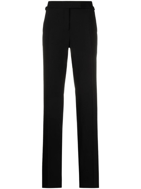 Tom Ford straight-leg wool trousers in black