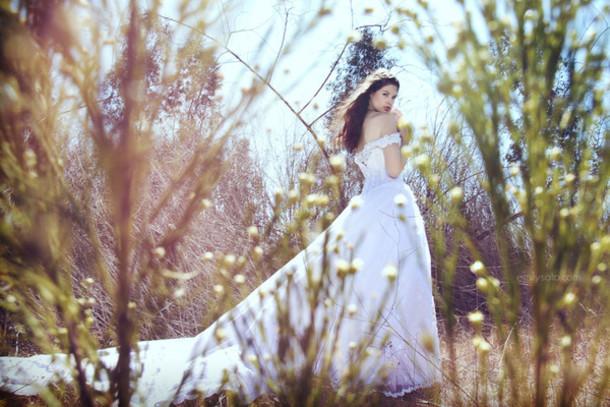 dress white dress white summer long dress wedding wedding dress wedding gown gown white gown