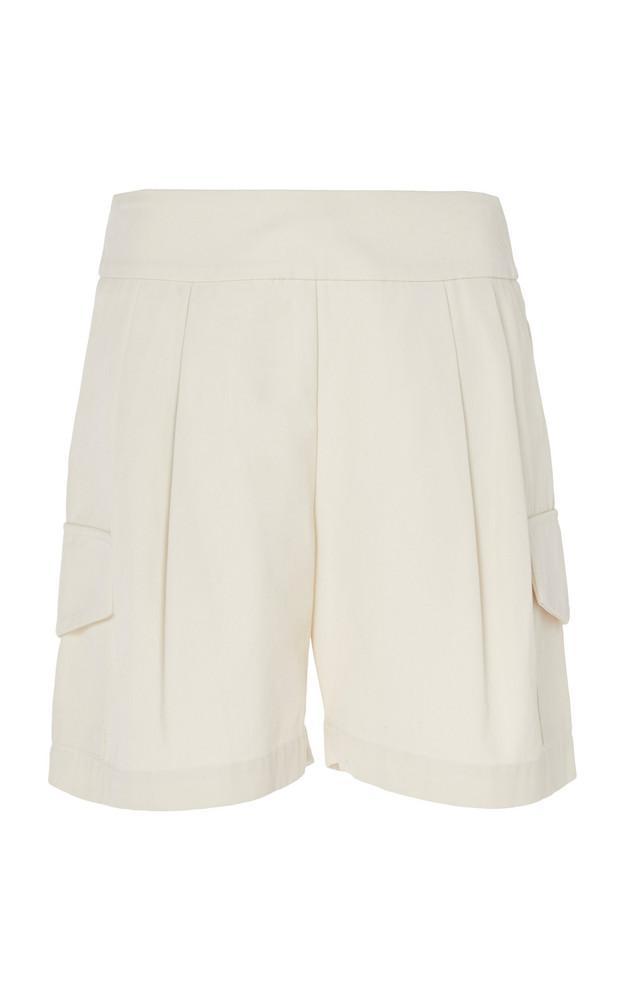 Matin Sant Elm Cotton-Twill Shorts in neutral