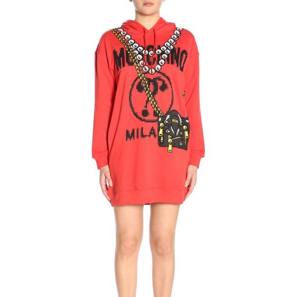 Moschino Dress Dress Women Moschino in red
