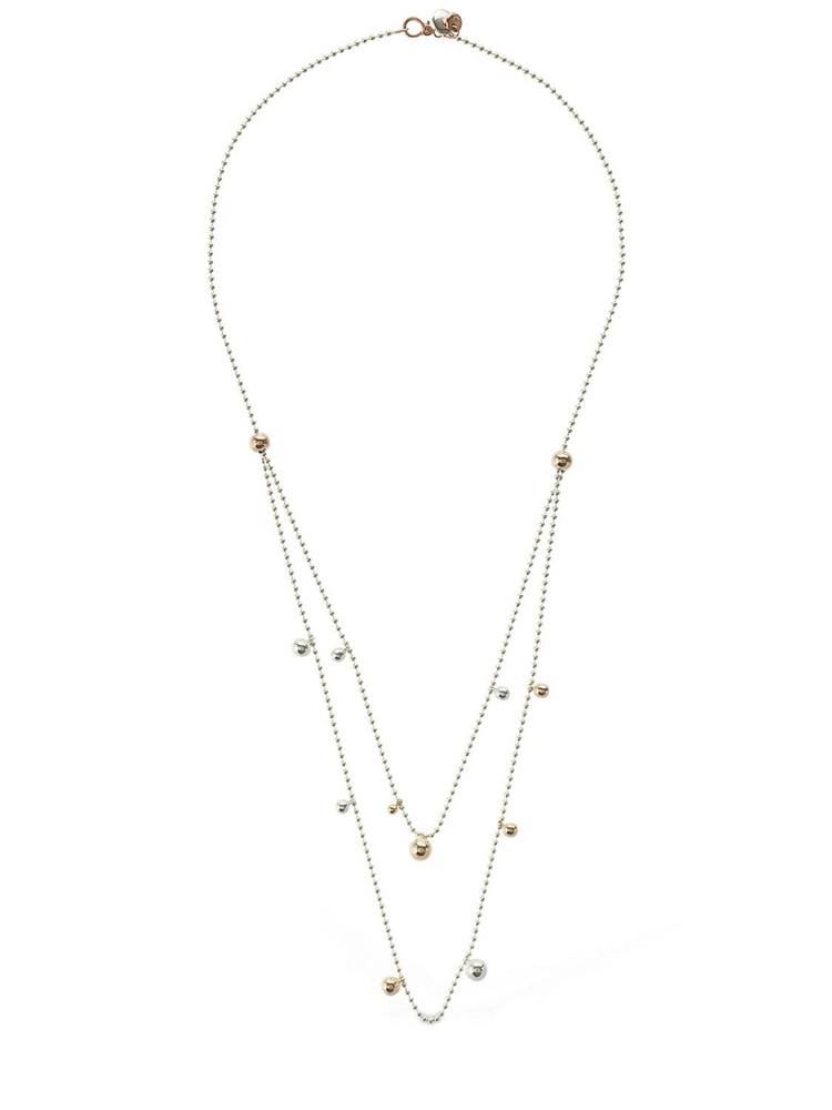 DODO Rose Gold & Silver Bavarole Necklace