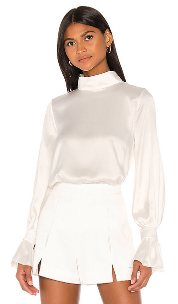 Piece of White Gisele Blouse in Ivory in ecru