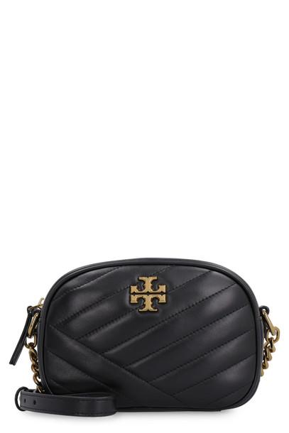 Tory Burch Kira Leather Camera Bag in black