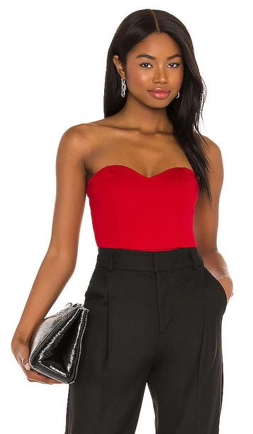 NBD Patricia Bodysuit in Red