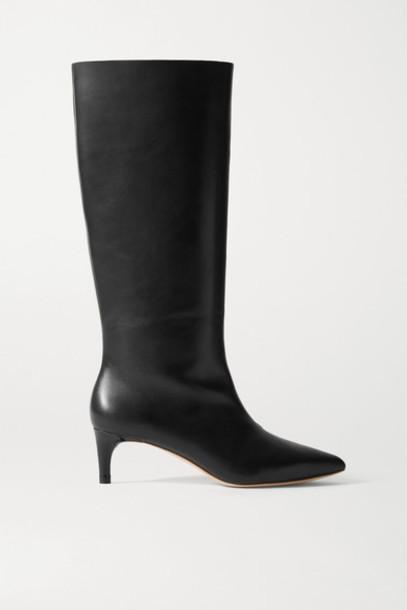 Loeffler Randall - Gloria Leather Knee Boots - Black