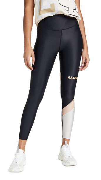 P.E NATION Sweeper Leggings in black