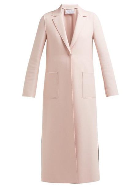 Harris Wharf London - Pressed Wool Overcoat - Womens - Light Pink