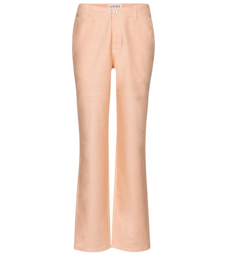 Loewe x Ken Price mid-rise boyfriend jeans in pink
