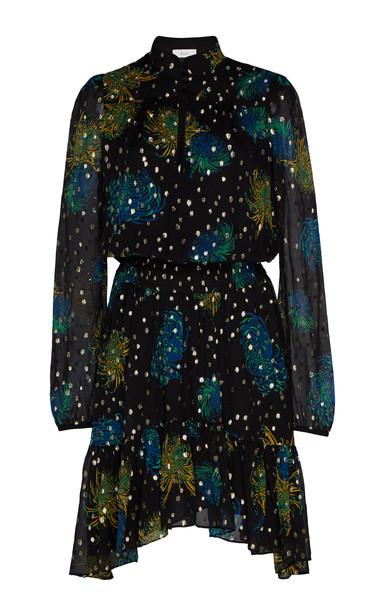 A.L.C. A.L.C. Reese Fil Coupé Georgette Dress