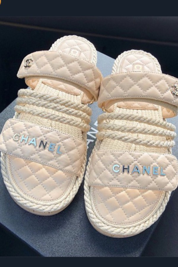 shoes shorts chanel pink