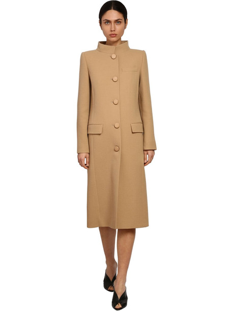 GIVENCHY Double Wool Crepe Midi Coat