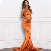 dress,prom dress,prom,floor length dress,satin,satin dress,evening dress,maxi dress,long,long dress