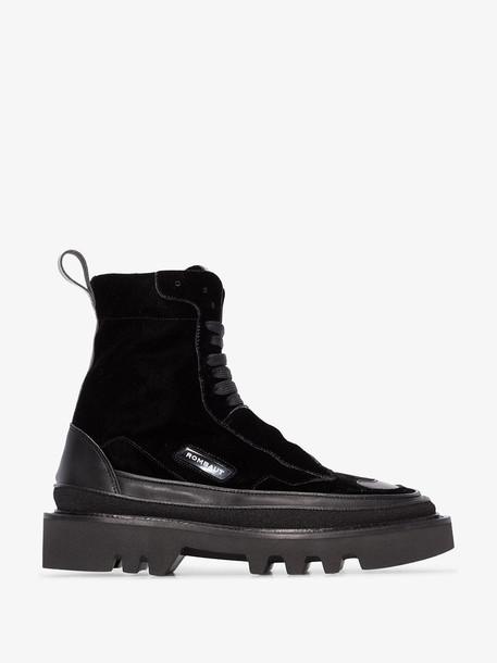 Rombaut Black Protect Hybrid velvet boots