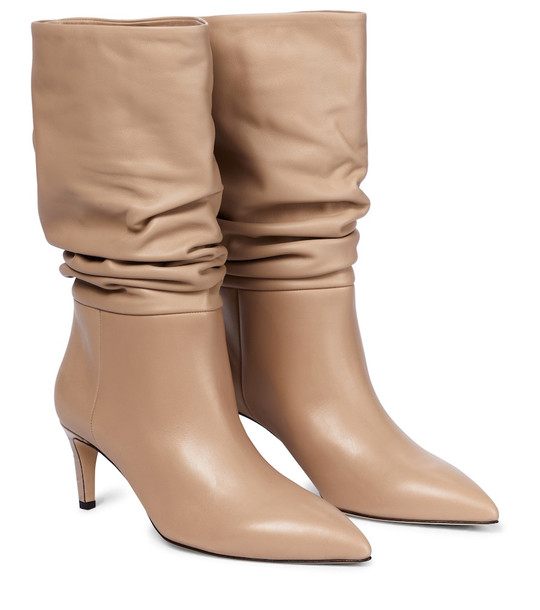 Paris Texas Leather boots in beige