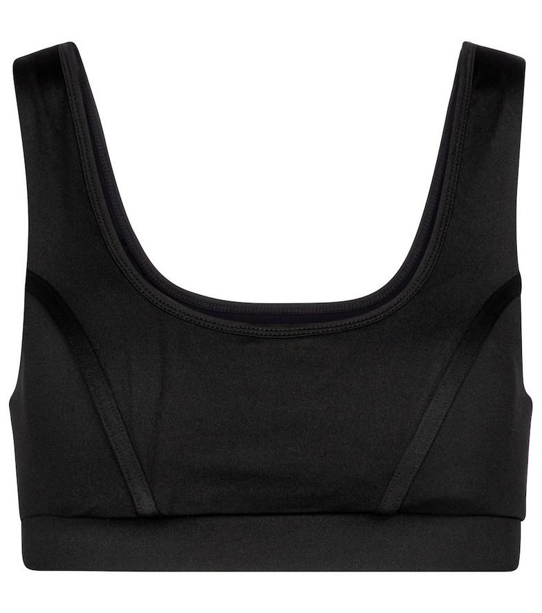 Ernest Leoty Blandine sports bra in black