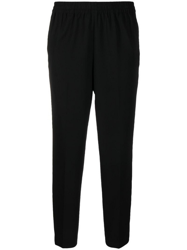 By Malene Birger Anglet cropped trousers in black