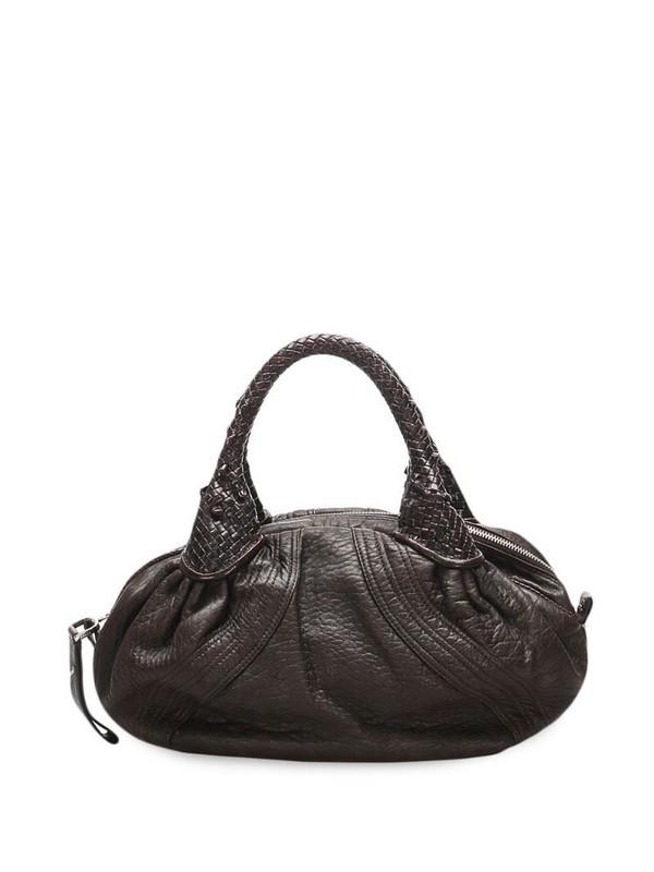 Fendi Pre-Owned Spy top-handle bag in brown