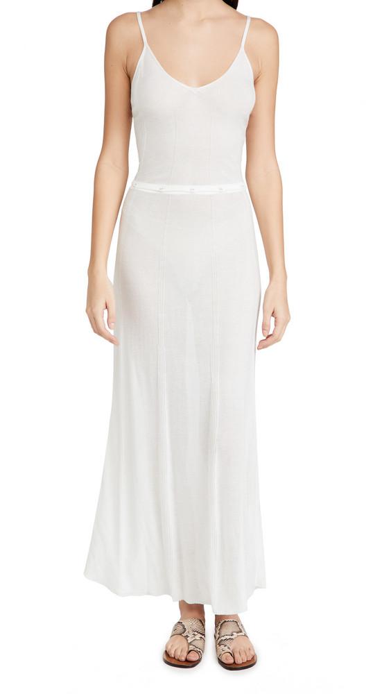 Devon Windsor Vienna Dress in white