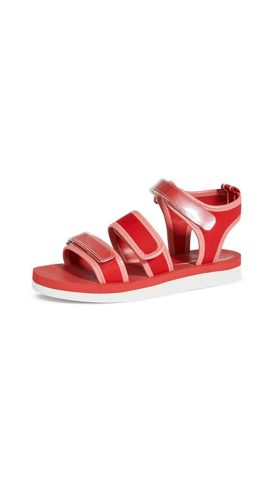 Villa Rouge Cedar Sport Sandals in pink / red