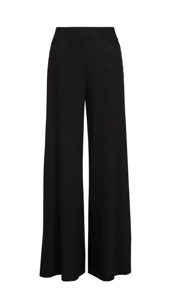 L'AGENCE The Crawford Wide Leg Pants in black