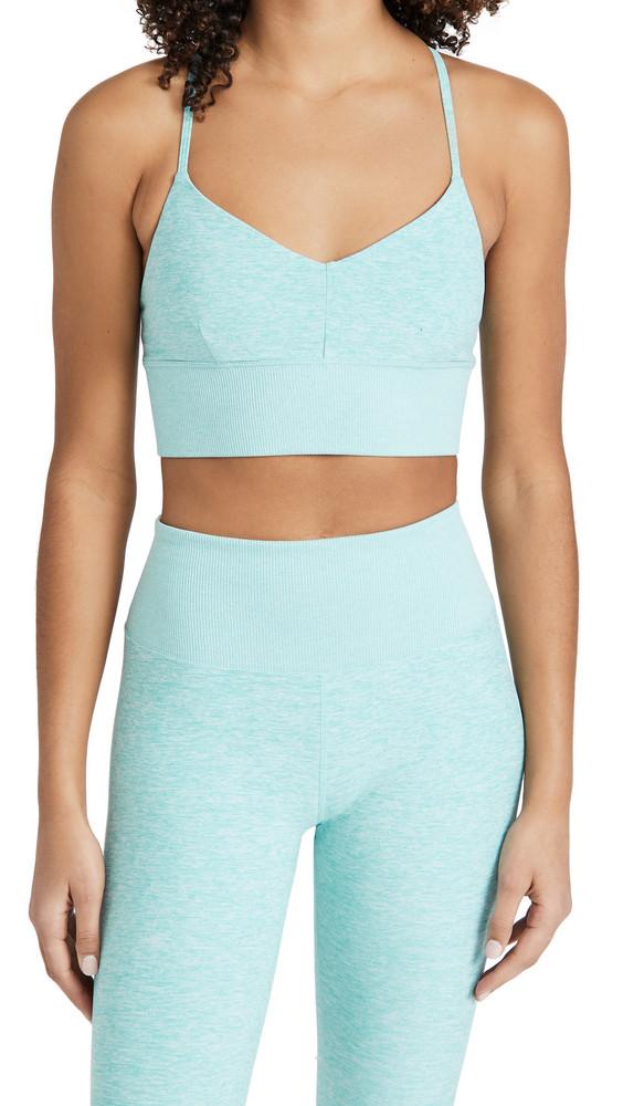 Alo Yoga Alosoft Lavish Bra in blue